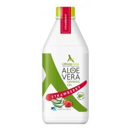 Litinas Aloe Πόσιμο Aloe Vera Gel, Γεύση Φράουλα, 1000ml
