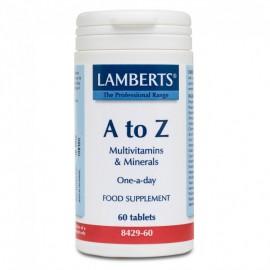 Lamberts A-Z Multi Πολυβιταμίνη 60 Ταμπλέτες