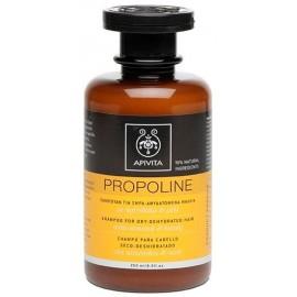 Apivita Propoline Σαμπουάν για Ξηρά - Αφυδατωμένα Μαλλιά με Αμύγδαλο & Μέλι,250ml