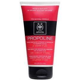 Apivita Propoline Κρέμα Προστασίας Χρώματος Και Ενυδάτωσης Για Βαμμένα Μαλλιά Με Ηλίανθο & Μέλι 150ml
