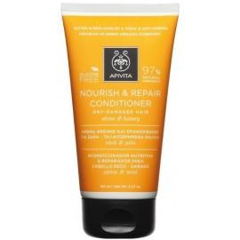 Apivita Nourish Repair Conditioner για Ξηρά Μαλλιά με Ελιά & Μέλι 150ml