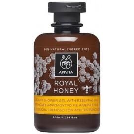 Apivita Royal Honey Κρεμώδες Αφρόλουτρο για Ξηρή Eπιδερμίδα 300ml