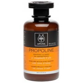 Apivita Propoline Σαμπουάν Λάμψης & Αναζωογόνησης με Εσπεριδοειδή & Μέλι 250ml