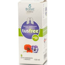 Bionat Pharm Tusfree Φυτικό Σιρόπι 150ml