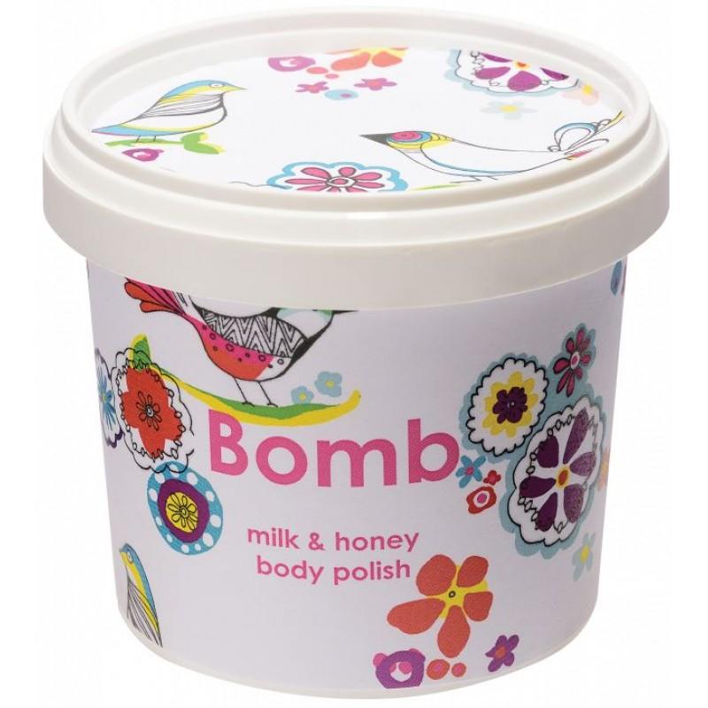Bomb Cosmetics Milk & Honey Body Polish 365ml