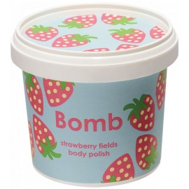 Bomb Cosmetics Strawberry Fields Shower Polish 365ml