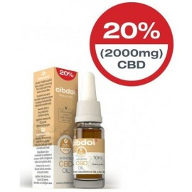 Cibdol CBD Hemp Seed Oil 20% 2000mg 10ml