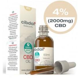 Cibdol CBD Oil Normal 4% 2000mg 50ml
