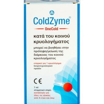 Life NLB ColdZyme OneCold Στοματικό Spray για το Κρυολόγημα 7ml