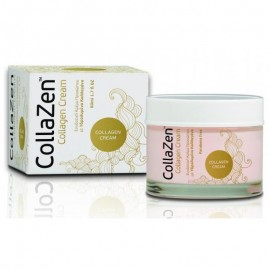 CollaZen Cream Ενυδατική Κρέμα Προσώπου με Υδρολυμένο Κολλαγόνο 50ml