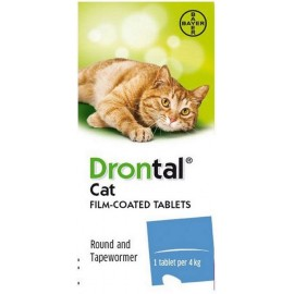 Bayer Drontal Cat Αντιπαρασιτικό Συμπλήρωμα Διατροφής για Γάτες, 8 tabs