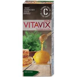 ErgoPharm Vitavix Σιρόπι για τον Ερεθισμένο Λαιμο & Βήχα, 200ml