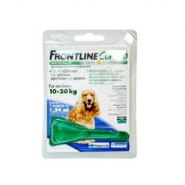 Frontline Combo Spot Dog Μ για τη Θεραπεία Μεσαίων Σκύλων (10-20 kg) από Εξωπαρασιτικές Μολύνσεις, 1 x 1.34ml
