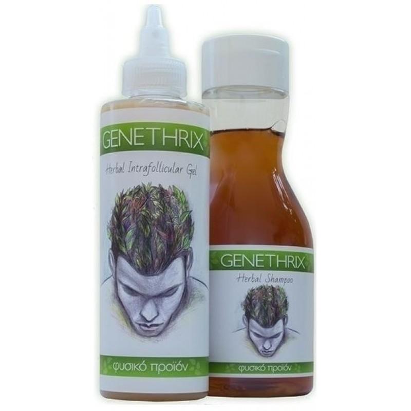 Genomed Genethrix Herbal Shampoo 300ml & Herbal Intrafollicular Gel 200ml