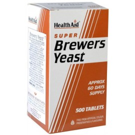 Health Aid Brewers Yeast (Μαγιά Μπύρας) 500 ταμπλέτες