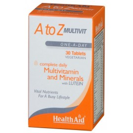 Health Aid A to Z Multivit 30 Ταμπλέτες