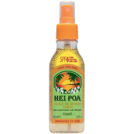 Hei Poa Tahiti Monoi Oil Tiare Spray SPF6 100ml