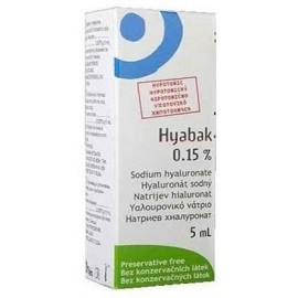 Thea Synapsis Hyabak Eye Solution 0.15% 5ml