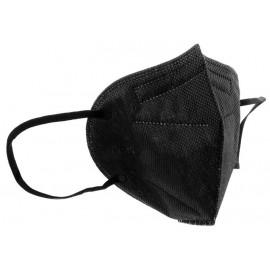 Μάσκα Προσώπου FFP2 KN95 (GB2626-2006) Μαύρη