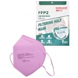 Μάσκα Προσώπου FFP2 KN95 (GB2626-2006) Ροζ