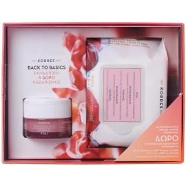 Korres Pomegranate Κρέμα Ενυδάτωσης Για Λιπαρές / Μικτές Επιδερμίδες 40ml & Μαντηλάκια Καθαρισμού 25τμχ