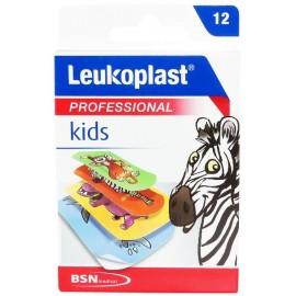 Leukoplast Professional Kids 2 μεγέθη (19mm x 56mm) + (38mm x 63mm) 12τεμ