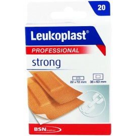 Leukoplast Professional Strong 2 μεγέθη (22mm x 72mm) + (38mm x 63mm) 20τεμ