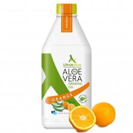 Litinas Aloe Πόσιμο Aloe Vera Gel, Γεύση Πορτοκάλι, 1000ml