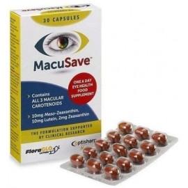Optisharp MacuSave Συμπλήρωμα Διατροφής για την Υγεία των Ματιών 30 κάψουλες