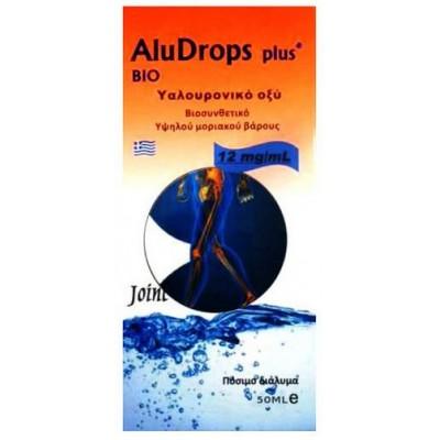 Medichrom Aludrops Plus Bio Υαλουρονικό Οξύ 50 ml