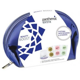 Medisei Panthenol Extra Beauty Boost Σύστημα Αντιγήρανσης & Σύσφιξης με Κρέμα 24h, 50ml και 3 Peel-off Μάσκες Προσώπου σε ένα υπέροχο Νεσεσέρ