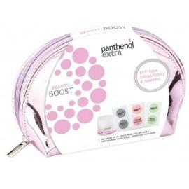 Medisei Panthenol Extra Beauty Boost Σύστημα Ενυδάτωσης & Λάμψης με Κρέμα Ημέρας, 50ml και 3 Peel-off Μάσκες Προσώπου σε ένα υπέροχο Νεσεσέρ