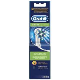 Oral-B Ανταλλακτικές Κεφαλές Cross Action 2τμχ