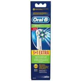 Oral-B Ανταλλακτικές Κεφαλές Cross Action 3+1 ΔΩΡΟ