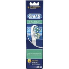Oral-B Ανταλλακτικές Κεφαλές Dual Clean 2τμχ