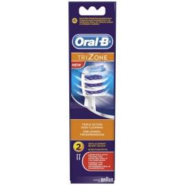 Oral-B Ανταλλακτικές Κεφαλές Trizone 2τμχ