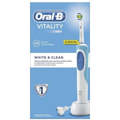 Oral-B Vitality 2D White & Clean Ηλεκτρική Οδοντόβουρτσα