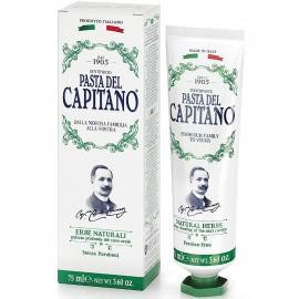 Pasta Del Capitano Natural Herbs Φυτική Οδοντόκρεμα 75ml