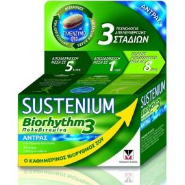 Menarini Sustenium Biorhythm 3 Πολυβιταμίνη για Άνδρες 30 Δισκία
