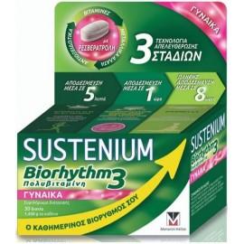 Menarini Sustenium Biorhythm 3 Πολυβιταμίνη για Γυναίκες 30 Δισκία