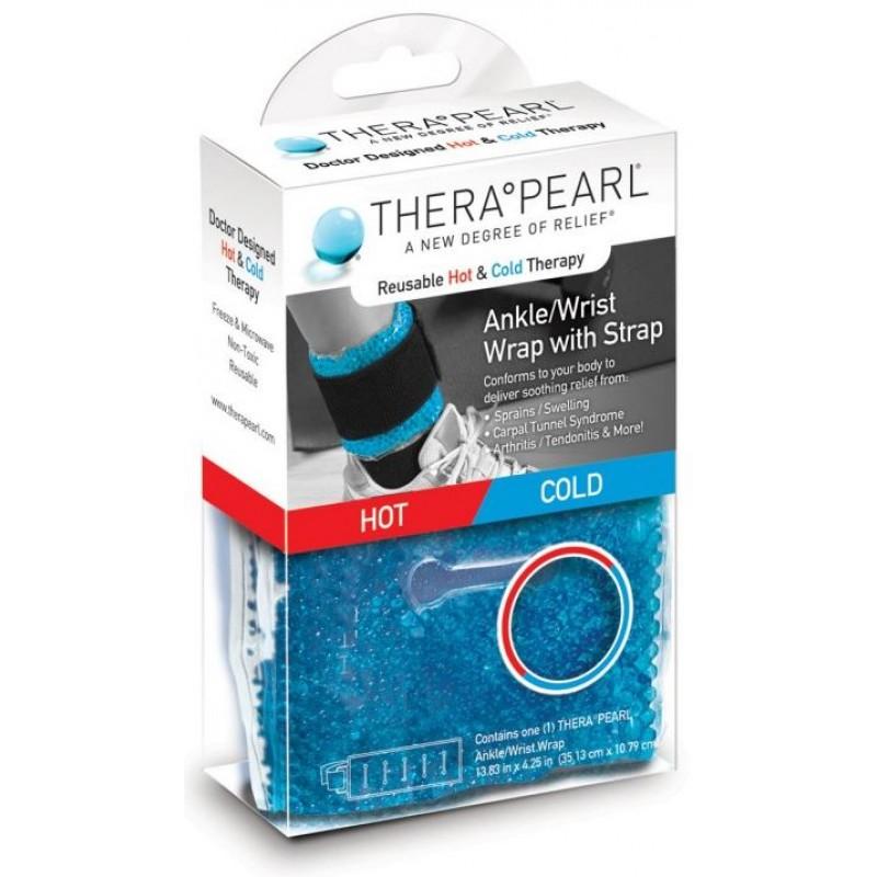 TheraPearl Ankle/Wrist Wrap, Θερμοφόρα/Παγοκύστη Αστράγαλου/Καρπού, TP-RWW1, 1τμχ