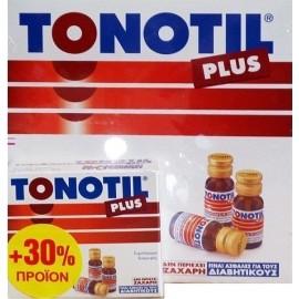 Tonotil Plus 10 Αμπούλες των 10ml & ΔΩΡΟ 3 Αμπούλες