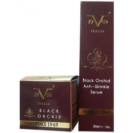 19V69 Versace Black Orchid Anti-Wrinkle Cream 50ml & Black Orchid Serum 30ml