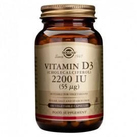Solgar Vitamin D3 2200 iu 100 Veg.Caps